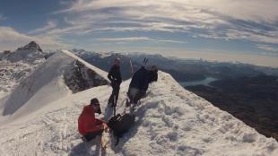 Neige et soleil dans les Alpes du Sud
